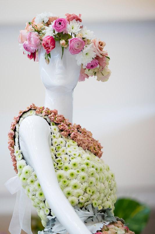 Fleurs De Villes Suit Yourself Floral Mannequin