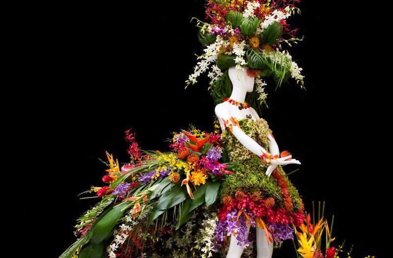 Fleurs De Villes Eveline Charles Floral Mannequin