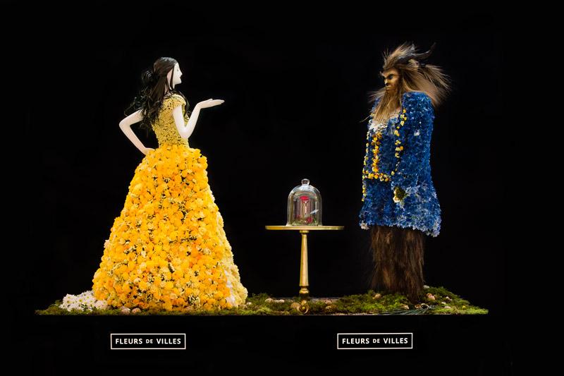 Fleurs De Villes Beauty And The Beast Mannequin