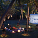 Enjoy a personal cinema experience with the resort's 'Dine by Design' feature