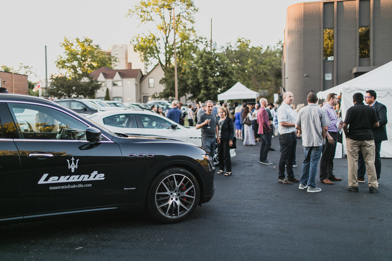 Maserati Oakville At Invidiata Event
