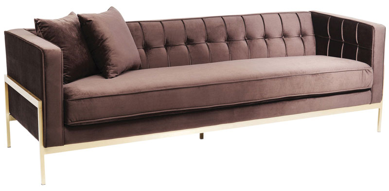KARE Design's Osaka Collection Loft Sofa in Brown