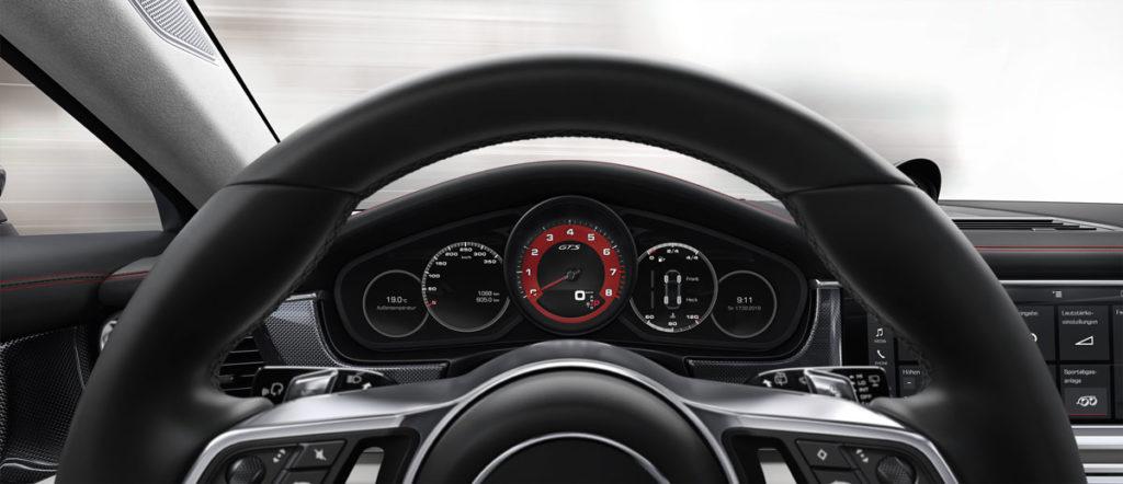 The 2019 Porsche Panamera Sport Turismo Interior