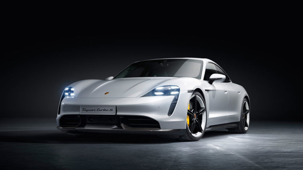 World Premiere of the Porsche Taycan