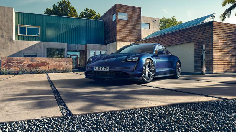 The World Premiere Of The Porsche Taycan
